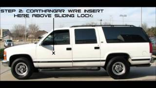 LOCKED OUT 1994 SUBURBAN