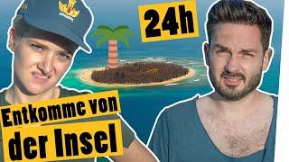 Challenge: Entkomme in 24 Stunden von der Insel II Das schaffst du nie!