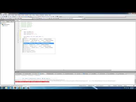 C Programming Tutorial – 35 – puts and gets
