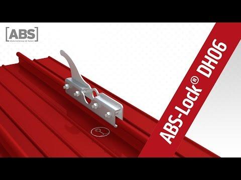 Kompakte Video-Präsentation zum Sicherheitsdachhaken ABS-Lock DH06.