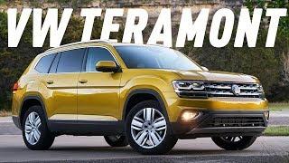 Смотреть онлайн Обзор на автомобиль Volkswagen Teramont 2018
