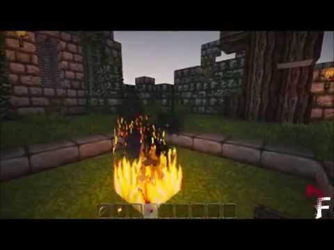Building Dark Souls(Lordran)An Adventure Map Minecraft Project