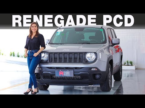 Jeep Renegade PCD 2019 em  Detalhes com Giu Brandão