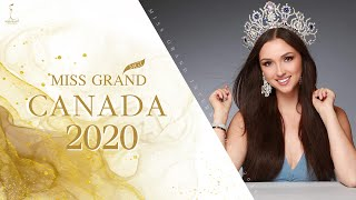 Sara Winter Miss Grand Canada 2020 Introduction Video