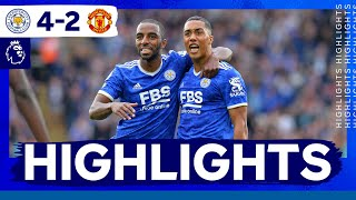 Leicester City 4-2 Manchester United Pekan 8