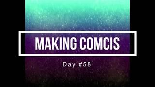 100 Days of Making Comics 58