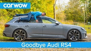 Find out what my Audi RS4 was REALLY like to live with… and see me almost crash it!