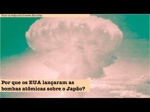 Por que os EUA lançaram as bombas atômicas sobre o Japão?