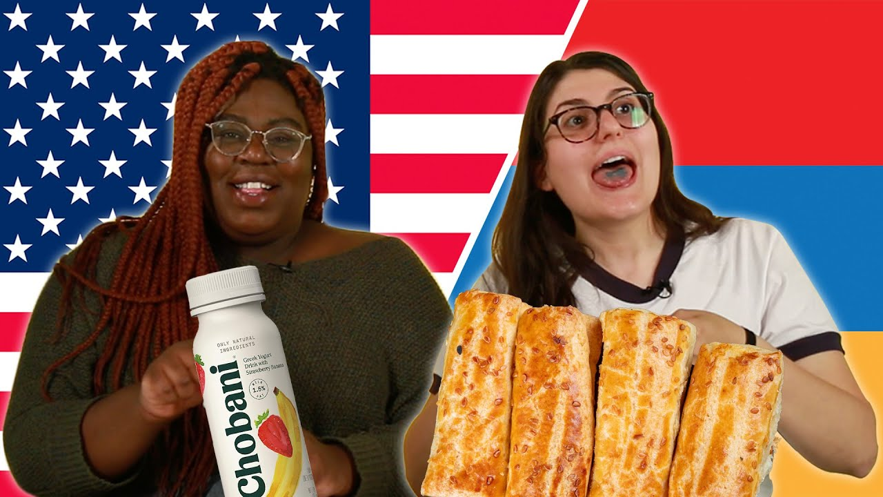 Americans and Armenians Swap Snacks thumbnail