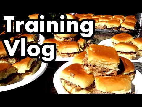 Competitive Eating Training Vlog (#1 - Pulled Pork -n- Tacos)
