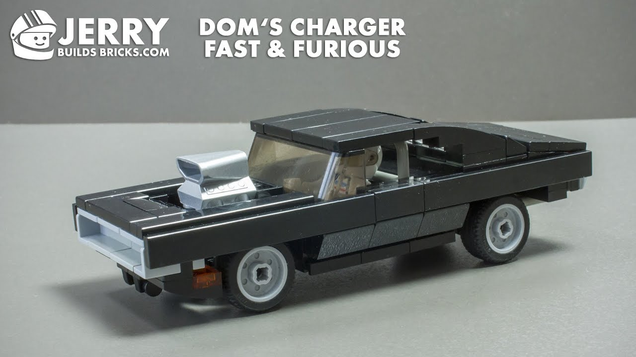 LEGO Dom's Charger from Fast & Furious instructions (MOC #76)