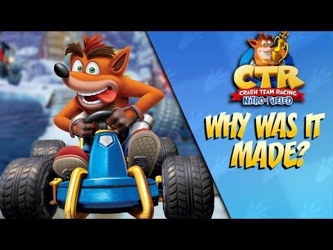 Why Was Crash Team Racing Nitro Fueled Made?