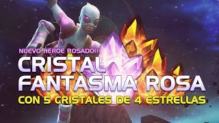NUEVO HEROE ROSADO! Cristal Fantasma Rosa | Marvel Batalla de Superhéroes