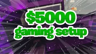 My $5,000 Ultimate Gaming Setup Tour.....😱(Insane)