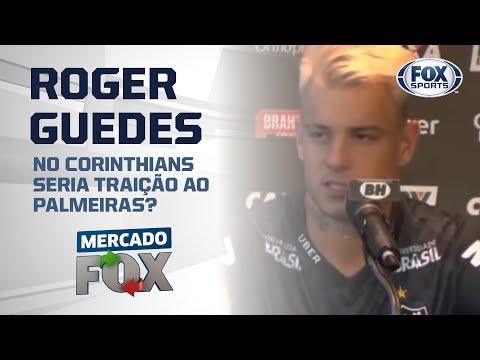 ROGER GUEDES VIRA ALVO DO CORINTHIANS | Mercado FOX
