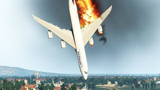 B747 Crashes Immediately After  Take Off in Xplane 11