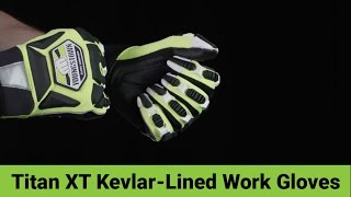 Titan XT Kevlar-Lined Heavy Duty Work Gloves from Youngstown Glove Co