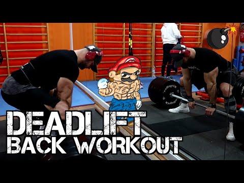 DEADLIFT e allenamento schiena