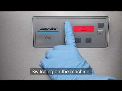 Wintehalter Conveyor Dishwasher C50
