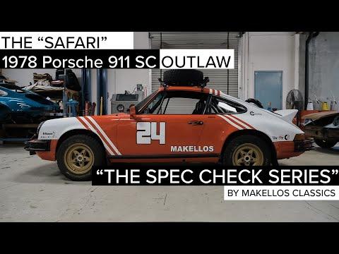 Porsche Outlaw 911 SC Spec Check by Makellos Classics