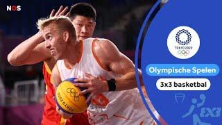 Nederlandse 3x3 basketballers zijn ook China de baas   Samenvatting Nederland - China   #Tokyo2020
