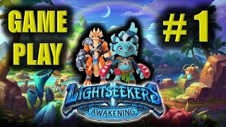LIGHTSEEKERS gameplay #1 - by PlayFusion Ltd - FREE GAME on iOS and Android