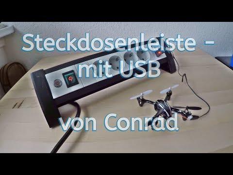 Steckdosenleiste mit 2 x USB von Conrad / Brennstuhl / Vorstellung / Review