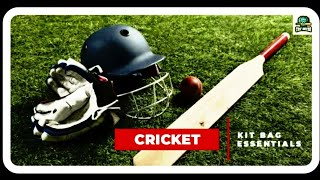 Cricket Kit Bag Essentials -- Learn About Them || Cric Arena