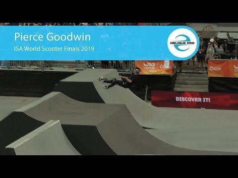 Pierce Goodwin - ISA Men's World Scooter Semi Finals 2019
