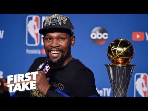The best free agency destination for Kevin Durant is the Warriors – Richard Jefferson   First Take