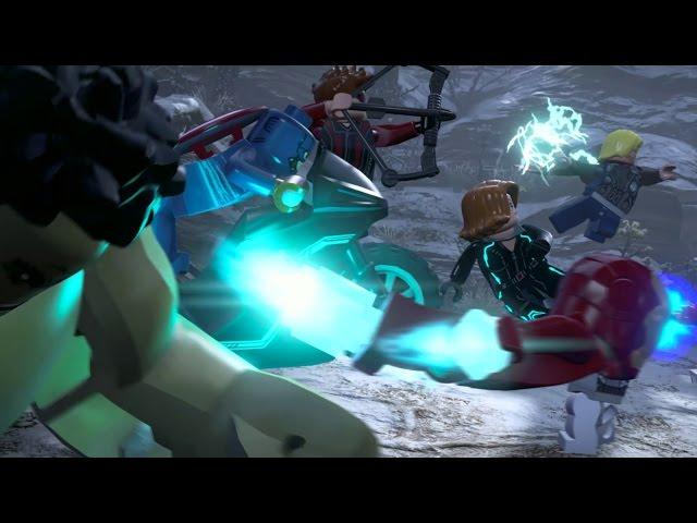 Official LEGO Marvel's Avengers Open World Trailer
