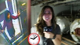 24 HOUR Overnight Challenge at HAUNTED CECIL HOTEL! *Do Not Try This*