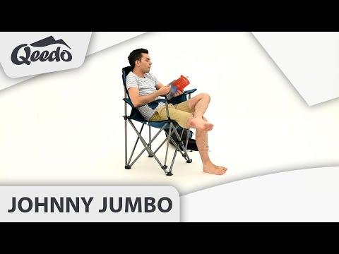 Qeed Johnny Jumbo Campingstuhl XXL bis 250 kg belastbar