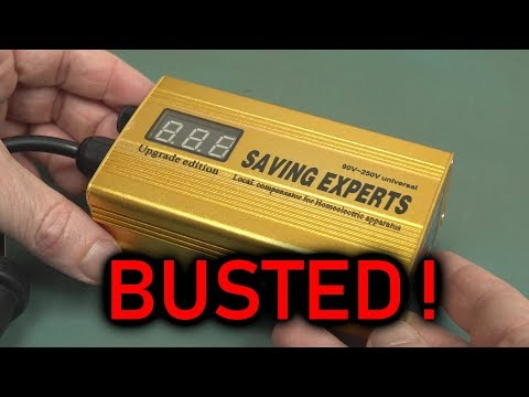EEVblog #1191 - Digital Energy Savers BUSTED!