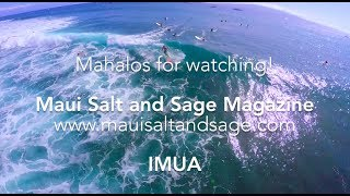 Exciting Video! Maui Salt and Sage Mag
