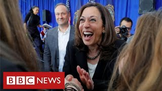 Kamala Harris named as first female black-American candidate for Vice-President - BBC News