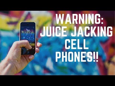 "Cell Phones ""Juice Jacked"" Dang!"