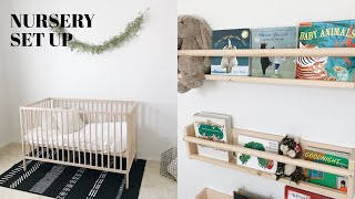 SETTING UP THE NURSERY