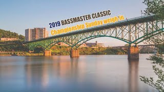 2019 Bassmaster Classic Day 3 Weigh-in -  Championship Sunday