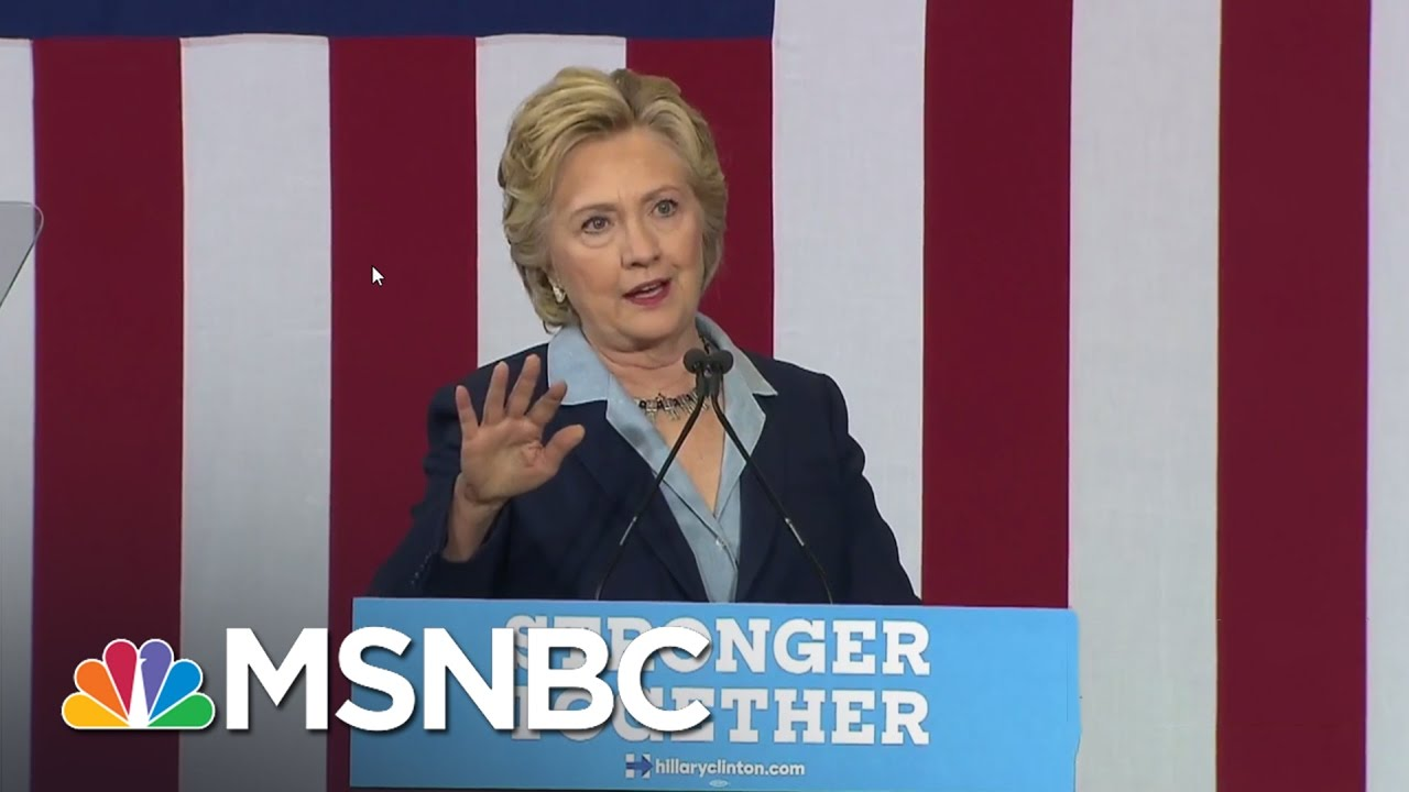 Clinton Makes First OH Trip Since Labor Day | All In | MSNBC thumbnail