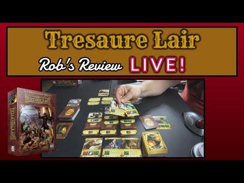 Treasure Lair - Live Review