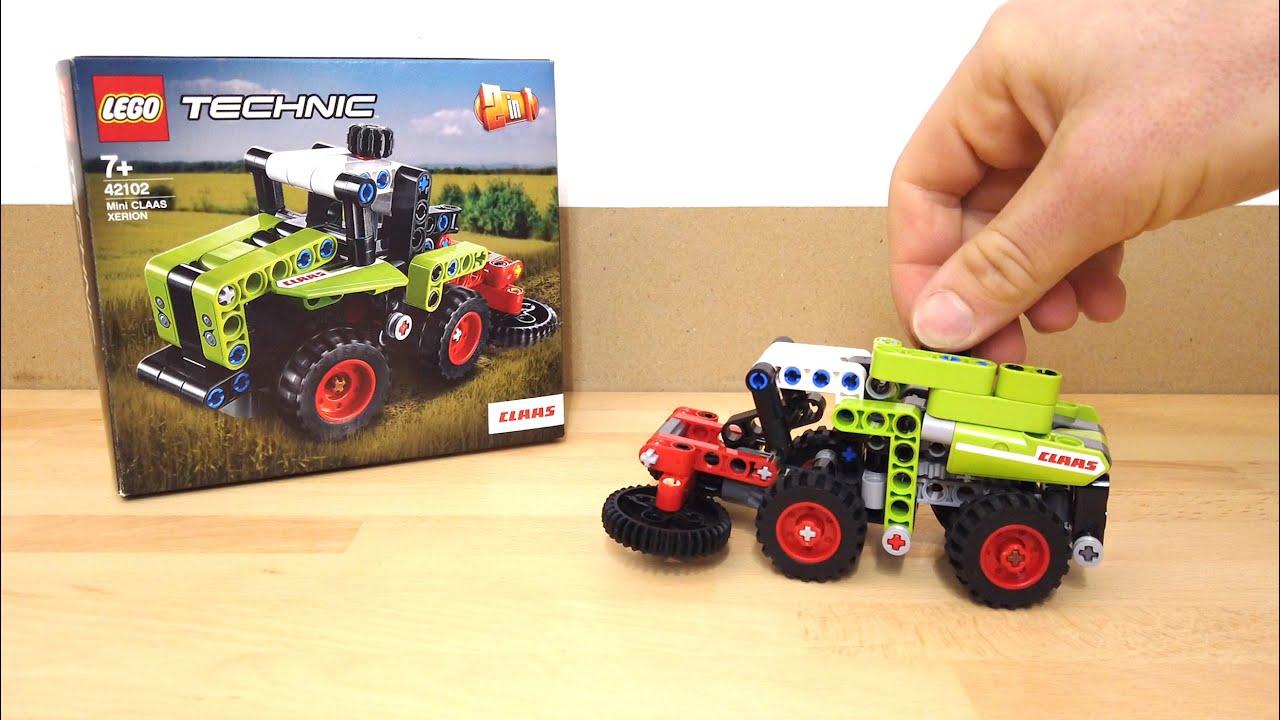 Lego Technic 42102-C model - Harvester