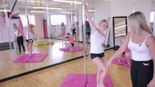 On the Pole TUTORIAL  Episode 09 Reverse Grab & Reach for the stars (Cupid Variation)