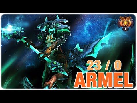 TNC Armel TOP 1 MMR Outworld Devourer Immortal Play Dota 2