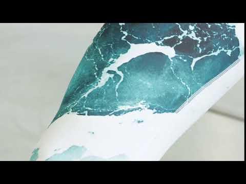Capri Leggings Water Splash | Landantzy