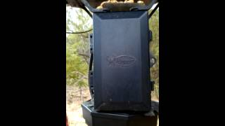 Hog light on feeder
