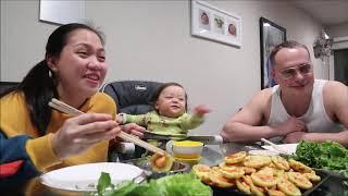 Vlog 401 ll Chồng Mỹ Lần Đầu Ăn Bánh Khọt Miền Tây, Bà 2 Lâu Lâu Đổ Bánh Khọt Và Cái Kết