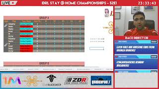 IDRL Stay@Home Championships S2Ep01 Live - Bombay Brigadiers vs Kalinga Krakens