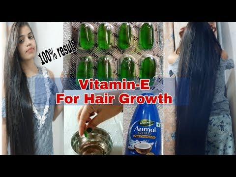 Vitamin-E Capsule For Hair Growth| Best Hair Soluction Home Remedie| Haircare Style Secret