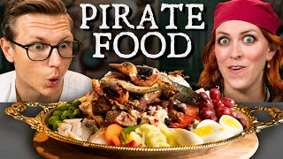 What Does A 300 Year Old Pirate Feast Look Like?